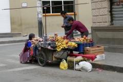 jede Cholita verkauft irgend etwas